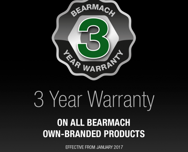 Bearmach 3-Year Warranty