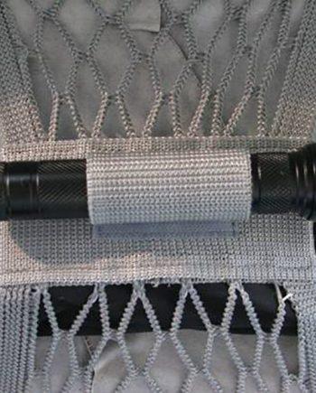 grey visor net