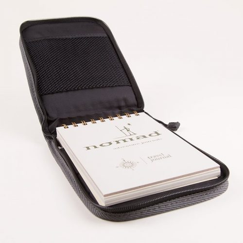 Travel Journal With Zip Cover