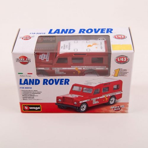 Land Rover 1/43 Metal Model