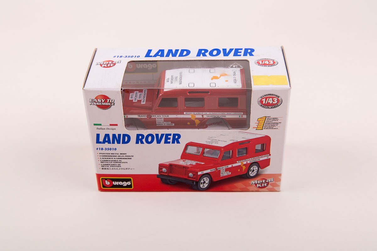 land rover model