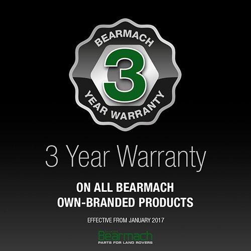 Bearmach 3-Year Warranty