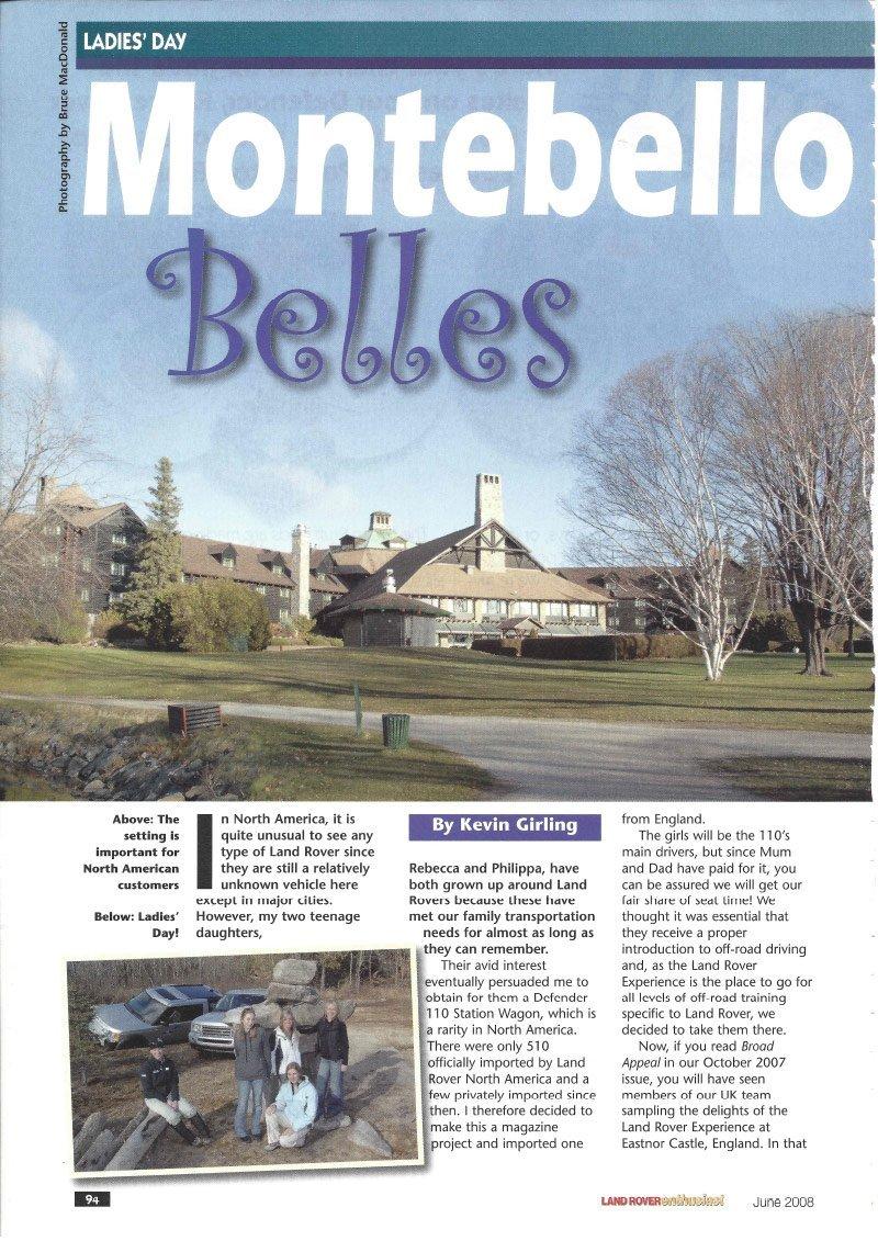 Montebello Belles