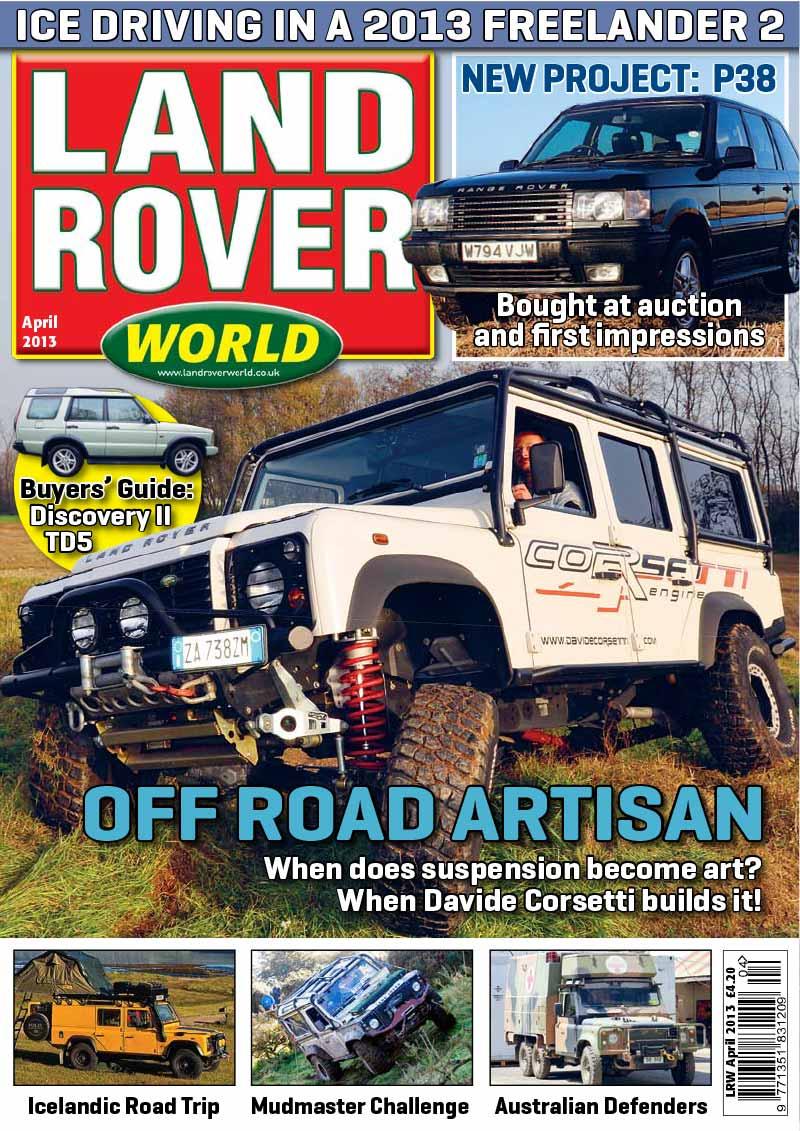 Corsetti Land Rover