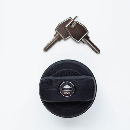 Filler Cap With Keys