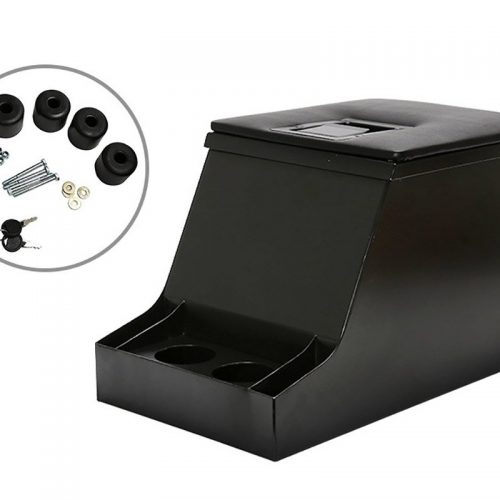 Cubby Box With Lockable Security Lid